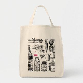 Röntgenstrahl-Lebensmittelgeschäft-Taschen-Einkauf Einkaufstasche