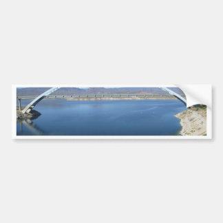 Roosevelt See-Bogen-Brücke Autoaufkleber