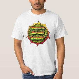 "Rootsstep Abteilungs-Aufnahmen ""Feuerkugel "" T-Shirt"