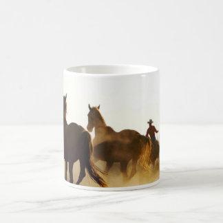 roping Cowboy-Tasse Kaffeetasse