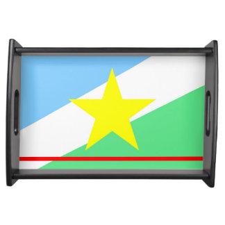 Roraima Flagge Brasilien-Regionsprovinzsymbol Serviertablett