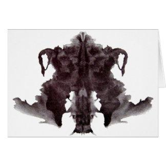 Rorschach Fleck 4 Karte