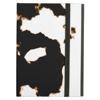 Rorschach Test einer Tinten-Fleck-Karte auf Weiß