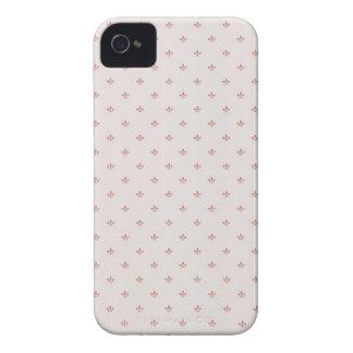 Rosa Abdeckung Flur-De-lis iPhone4 Case-Mate iPhone 4 Hüllen