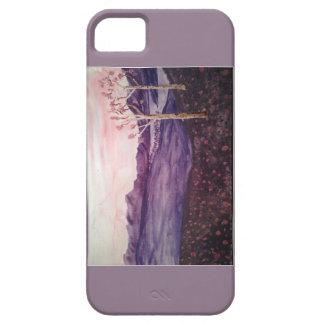 Rosa Abends-Telefon-Kasten Schutzhülle Fürs iPhone 5
