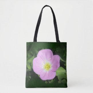 Rosa Abendsprimel-Blume Tasche