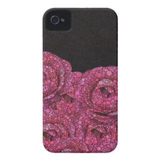 Rosa abstrakte Rosen Case-Mate iPhone 4 Hülle