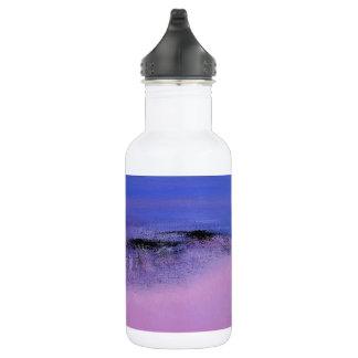 Rosa abstrakte Wasser-Flasche Edelstahlflasche