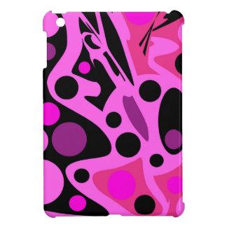 Rosa abstrakter Dekor iPad Mini Schale
