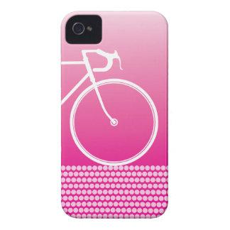 rosa abstrakter Fahrrad iPhone 4 Fall iPhone 4 Hüllen