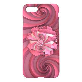 Rosa abstrakter Kunst-Entwurf iPhone 8/7 Hülle