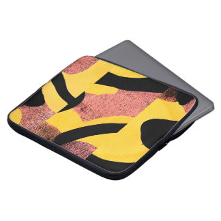 Rosa Abstraktion Laptop Sleeve