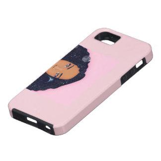 Rosa afrikanischer Fall iPhone 5 Hülle