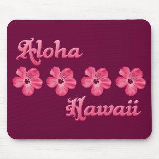 Rosa Aloha Hawaii Mousepads