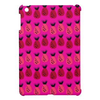 Rosa Ananasentwurf iPad Mini Hülle