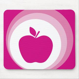 rosa Apfel Mousepad