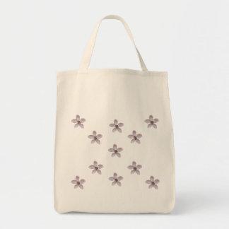 Rosa Apple-Blüten Einkaufstasche