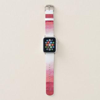 Rosa Aquarell Ombre Apple Uhrenarmband Apple Watch Armband