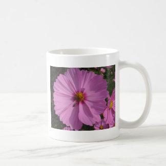 Rosa auf Rosa Teetasse