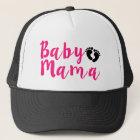 Rosa Baby-Mutterhut Truckerkappe