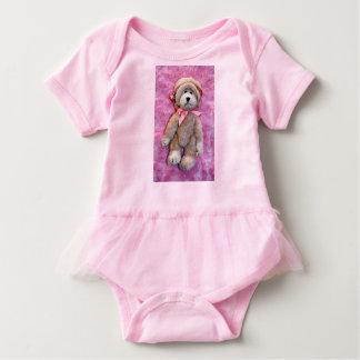 ROSA BABYtutu-BODYSUIT MIT EINEM NIEDLICHEN Baby Strampler