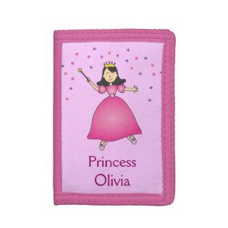 Rosa Ballerina-Prinzessin Girls Wallet