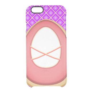 Rosa Ballett Pointe Schuhe, lila quadratisches Durchsichtige iPhone 6/6S Hülle