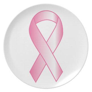 Rosa Band-Brustkrebs-Forschung Teller