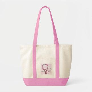 Rosa Band Einkaufstaschen
