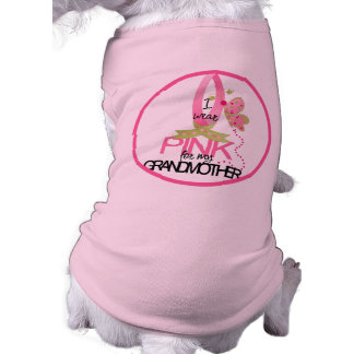 Rosa Band-Hundeshirt Shirt