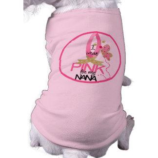 Rosa Band-Hundeshirt Top