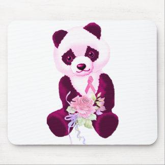 Rosa Band-Panda-Bär Mauspad