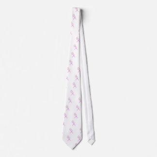 Rosa Band-Schmetterling Personalisierte Krawatte