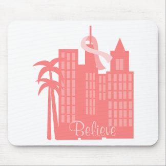 Rosa Band-Stadtbild Mousepads