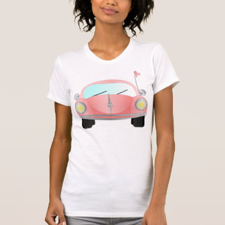 Rosa Band-Wanze Hemden