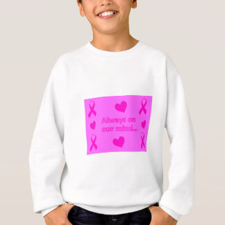 Rosa Bänder u. Herzen Sweatshirt