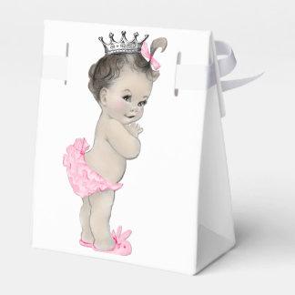 Rosa Bevorzugungs-Kästen Prinzessin-Babyparty Geschenkkartons