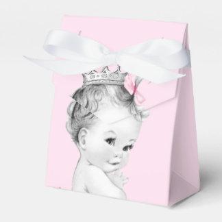 Rosa Bevorzugungs-Kästen Prinzessin-Babyparty Geschenkschachteln