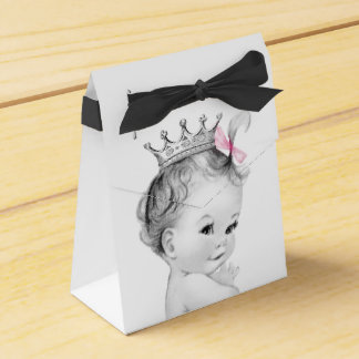 Rosa Bevorzugungs-Kästen Prinzessin-Babyparty Geschenkschachtel