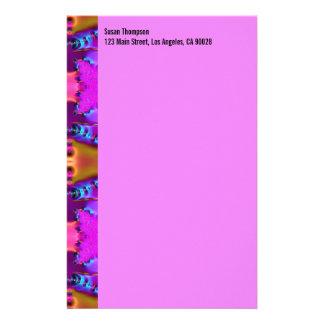 rosa biege Muster Büropapier