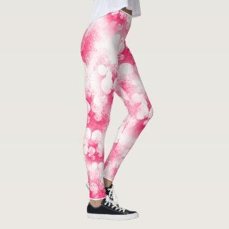 Rosa Blasen Leggings