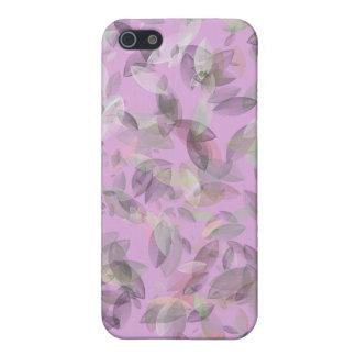 Rosa Blatt-Entwurf und Muster Schutzhülle Fürs iPhone 5