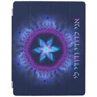 Rosa - blaues Magen iPad Hülle