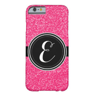 Rosa Bling Glitter personalisierter Iphone Fall Barely There iPhone 6 Hülle