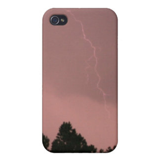 Rosa Blitz 3 4/4s iPhone 4 Schutzhülle