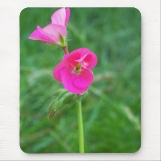 rosa Blume auf einer Mausunterlage Mauspads