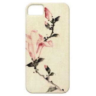 Rosa Blume Etui Fürs iPhone 5