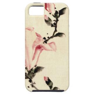 Rosa Blume iPhone 5 Schutzhülle