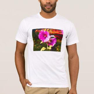 Rosa Blume T-Shirt