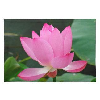 Rosa Blume Tischset